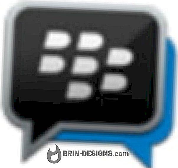 Kategori spill:   BlackBerry Messenger (BBM) - Hvordan slette en kontakt?