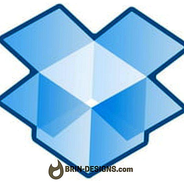 Dropbox - Synchronisierung anhalten / fortsetzen