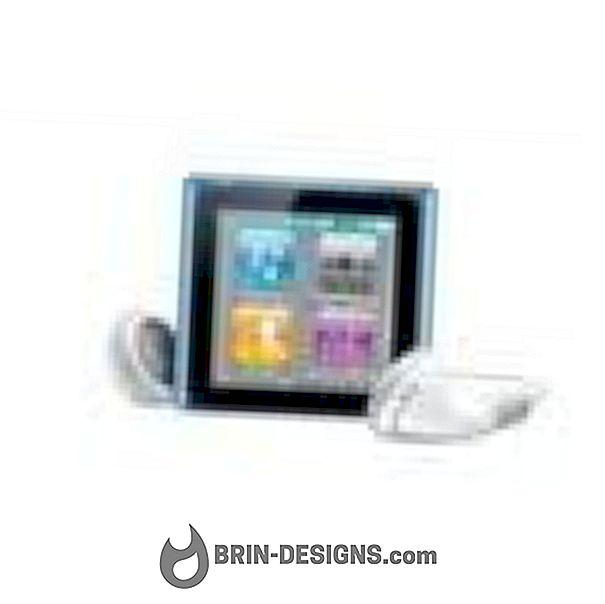 iPod Nano - kontrollige seerianumbrit, tarkvaraversiooni, ..et