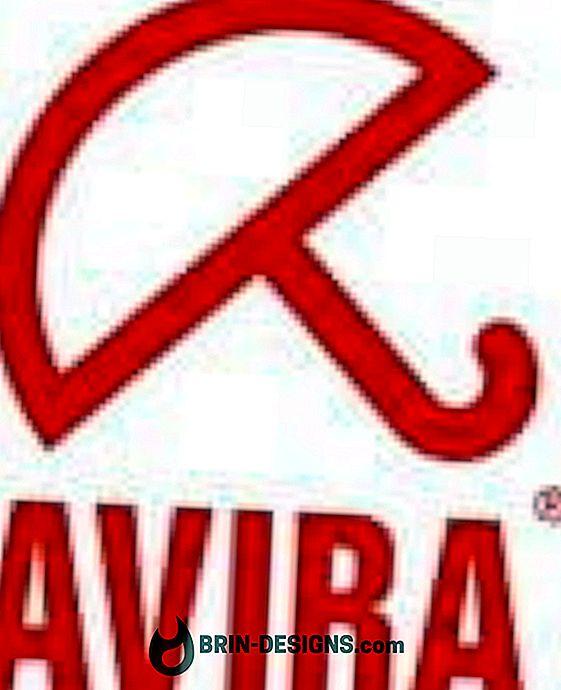 Antivir Avira: Manuell oppdatering av virusdefinisjonen