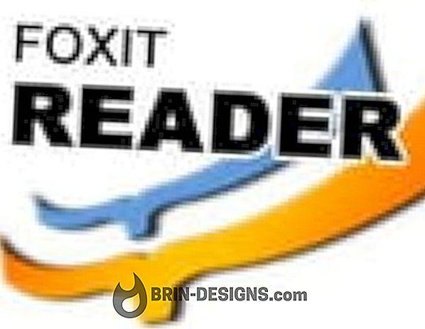 Foxit Reader - PDF im Lesemodus anzeigen, wenn es im Webbrowser geöffnet wird