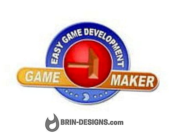 Gamemaker - używany język programowania
