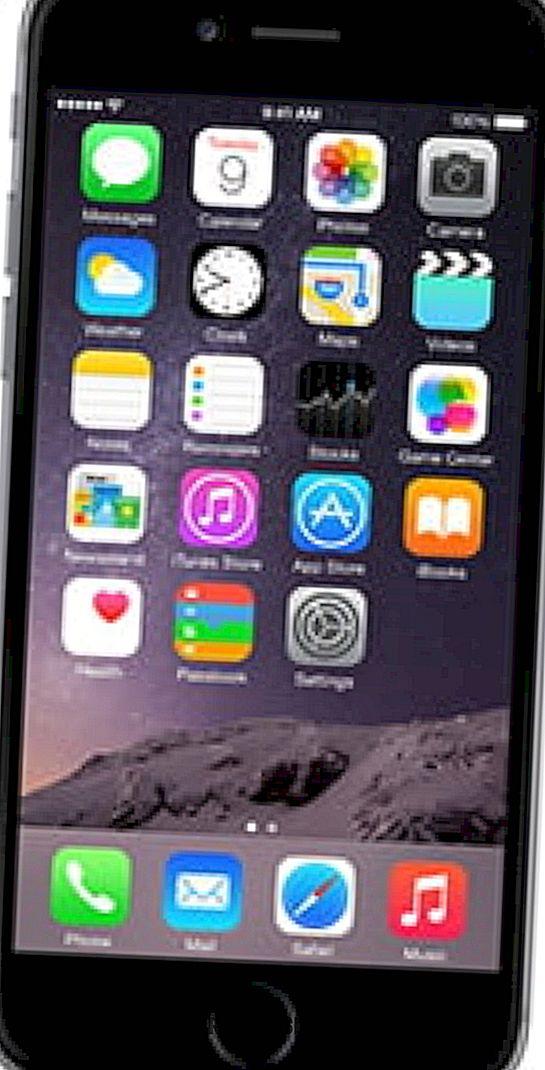 iPhone 6 - Muat naik dan simpan pustaka foto anda di iCloud