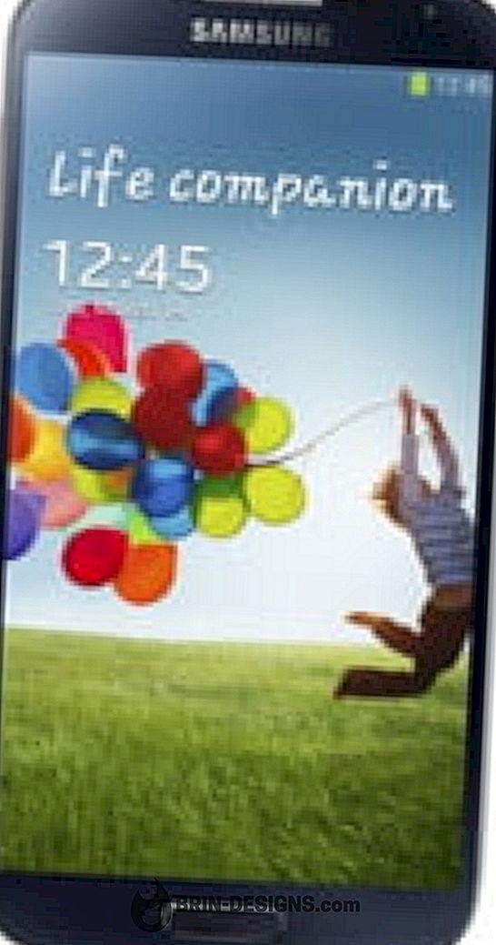Samsung Galaxy S4 - Membolehkan / melumpuhkan NFC