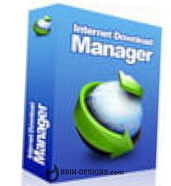 범주 계략:   인터넷 다운로드 관리자 - IDM - 속도 제한 기 켜기