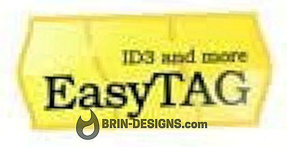 Kategoria Gry:   Edytuj znaczniki ID3 za pomocą easytag