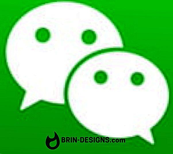 Luokka pelit:   WeChat - Kuinka tyhjentää chat-historiasi