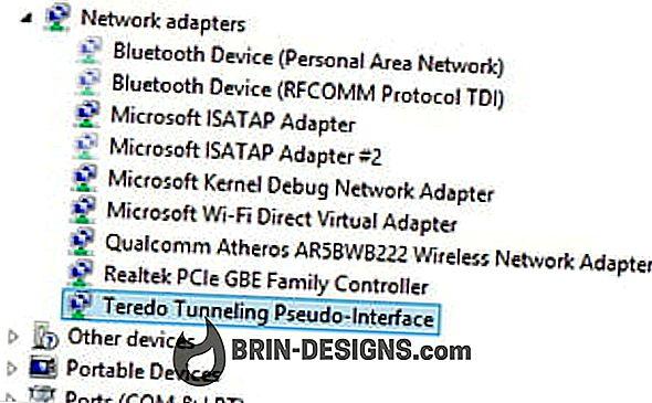 Kategorie Spiele:   Teredo-Tunneling-Pseudo-Schnittstelle