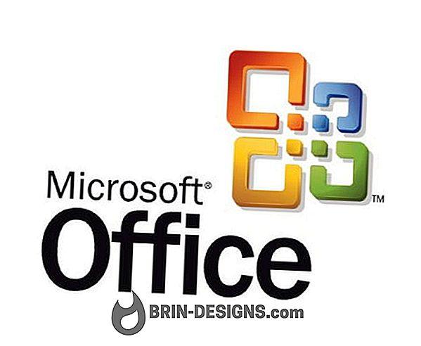 Ikony Office zmizli v zozname Programy