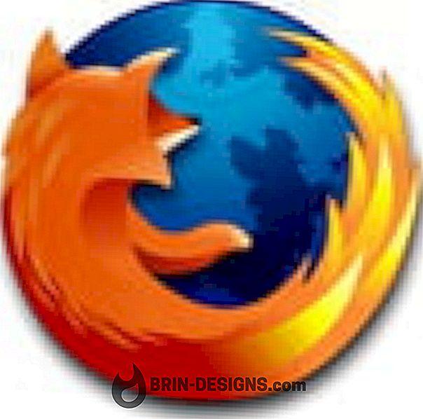 Kategori spel:   Firefox - Inaktivera Favicons