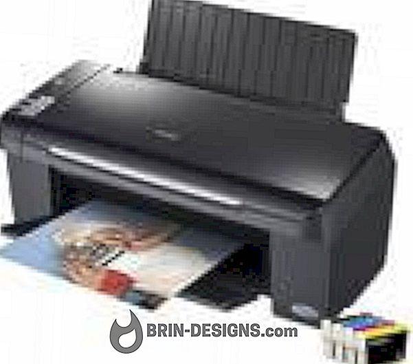 Epson Color 880 skrivare - alla indikatorer blinkar