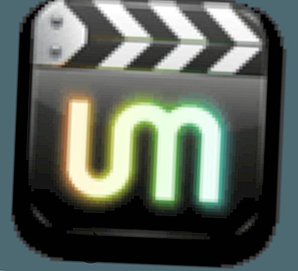 UMPlayer - Bei der Videowiedergabe werden kleine Pfeile angezeigt