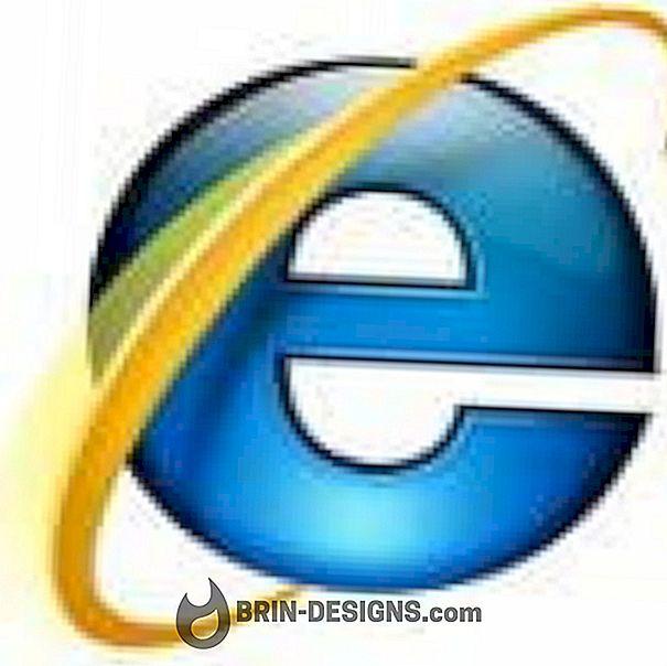 Luokka pelit:   Internet Explorer - Ota Quick-välilehdet käyttöön