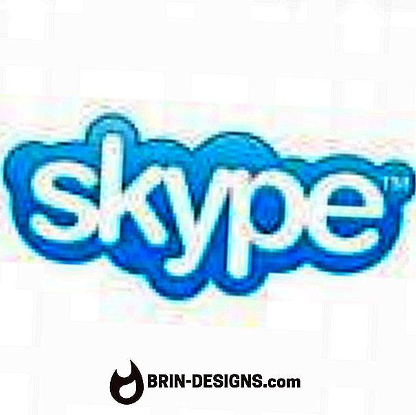 Skype - ajusta la configuración de tu webcam