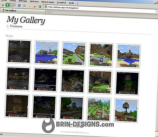 بسهولة إنشاء معرض للصور على موقع الويب الخاص بك