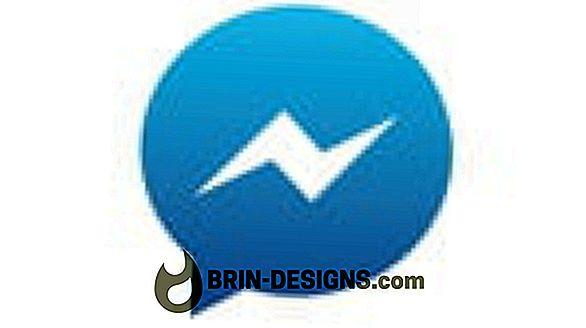 Luokka pelit:   Kuinka estää joku Facebook Messengerissä