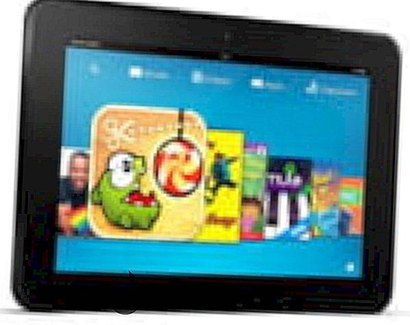 Amazon Kindle HD - asukohapõhiste teenuste keelamine