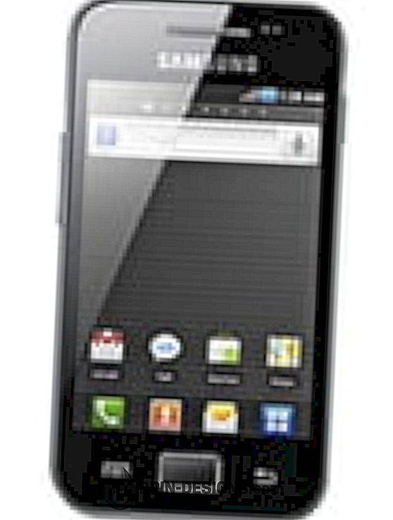 Samsung Galaxy Ace - Paparkan papan kekunci pada skrin
