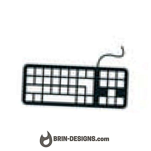 Fix Laptop Control (CTRL) Kľúče, ktoré nebudú fungovať