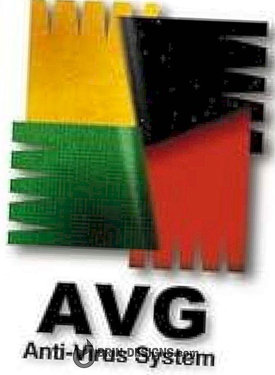 AVG - vaikeseadete taastamine