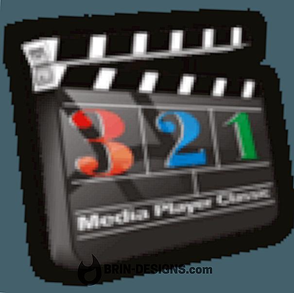 Media Player Classic - Memperuntukkan lebih banyak sumber CPU (Keutamaan proses)