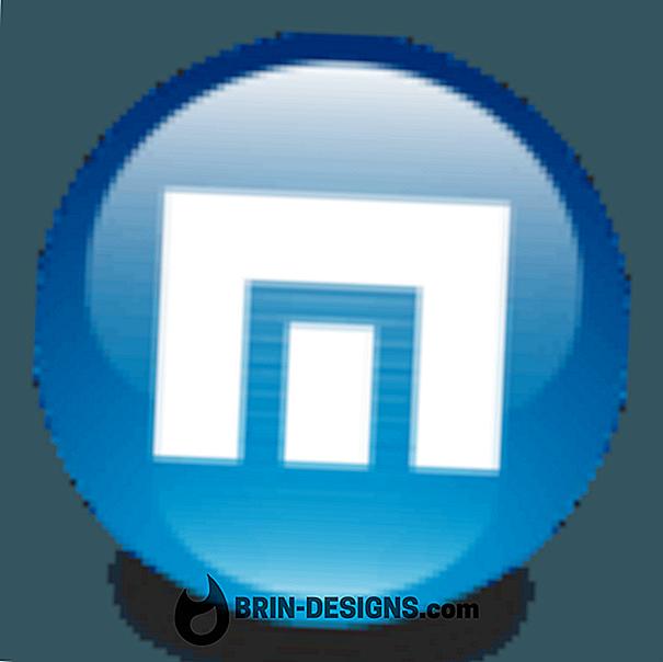 Maxthon - деякі комбінації клавіш