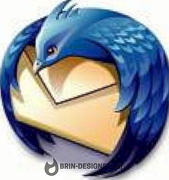 Thunderbird - Mengelola surat rangkap