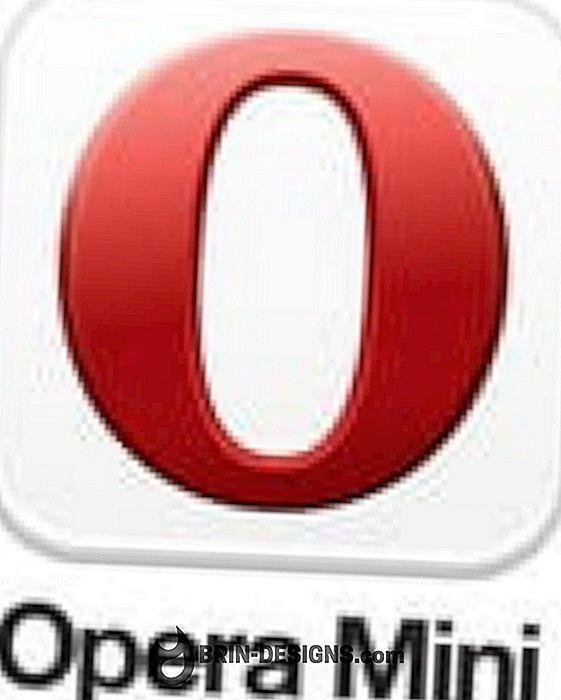 Opera Mini - Bir web sayfasını nasıl işaretlerim?