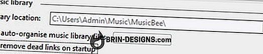 Kategori spel:   MusicBee - Ta bort döda länkar vid uppstart
