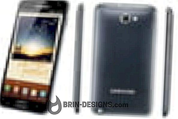 Samsung Märkus - lubage Wi-Fi Direct valik