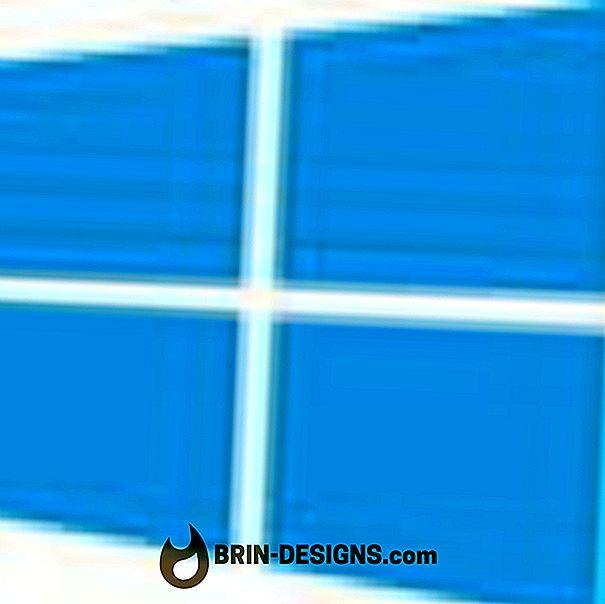 Kategooria mängud:   Kuidas keelata taustaprogrammid Windows 10-s