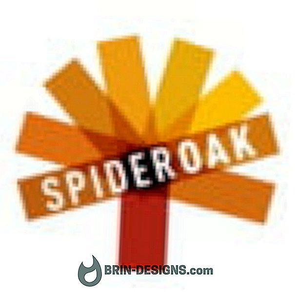 Kategori oyunlar:   SpiderOak - Açılış ekranını devre dışı bırak