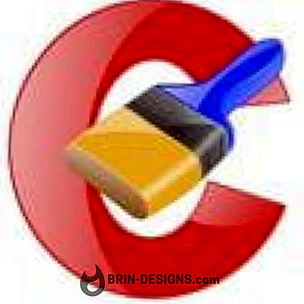 CCleaner - अपनी सभी सेटिंग्स को INI फ़ाइलों में सहेजें